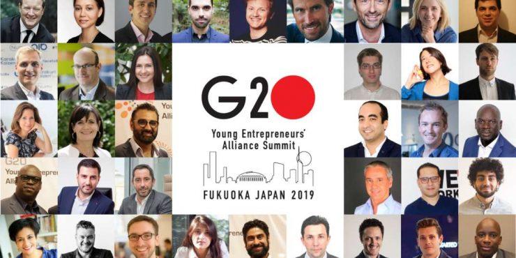 Sparkup membre du G20 des jeunes entrepreneurs