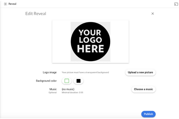 Logo reveal Creator