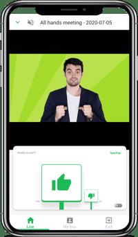 video EN with phone